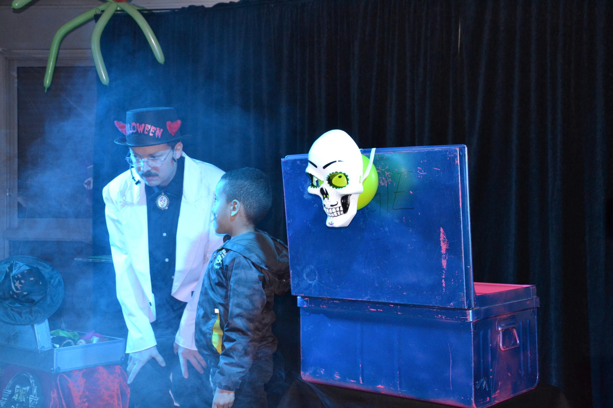 Spectacle Halloween à la Maison de Quartier